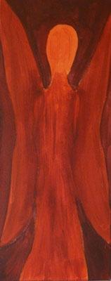 Acrylfarbe auf Leinwand  Masse: ca.20x50cn (verkauft)