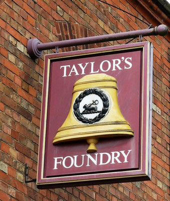 Taylor's in Loughborough is the only bell foundry in Britain.