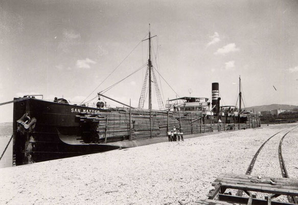 Renamed as San Matteo - with a cargo of timber