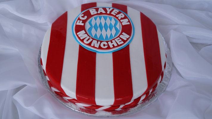 Fußballfan Torte 3