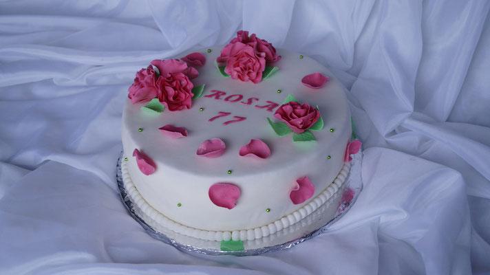 Rosen 2-Torte