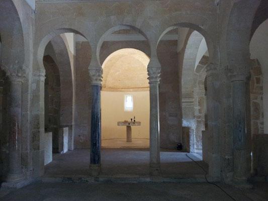 San Miguel de Escalada Ort der Stille
