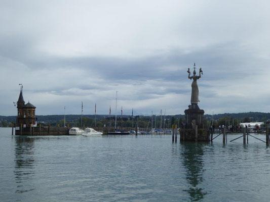 Denkmal voller Symbolik, zur Erinnerung ans Konzil von 1414-1418.