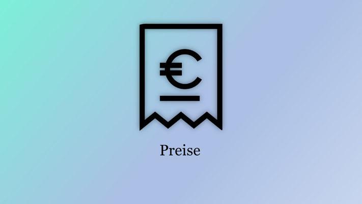 Preise Design & Bewerbungsservice