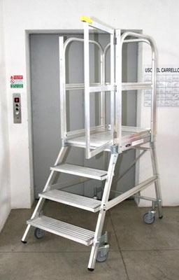 Escaleras de almac n escaleras profesionales for Escaleras profesionales