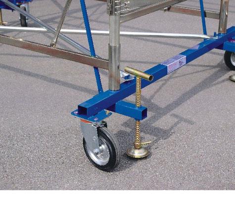 Andamios de acero escaleras profesionales for Escaleras profesionales