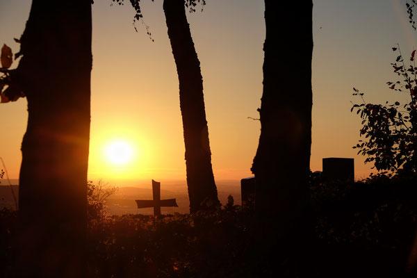 Sonnenuntergang bei Winnenden-Bürg