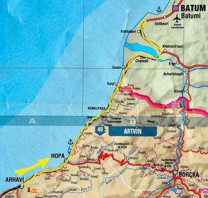 Tag 169: Arhavi - Batumi