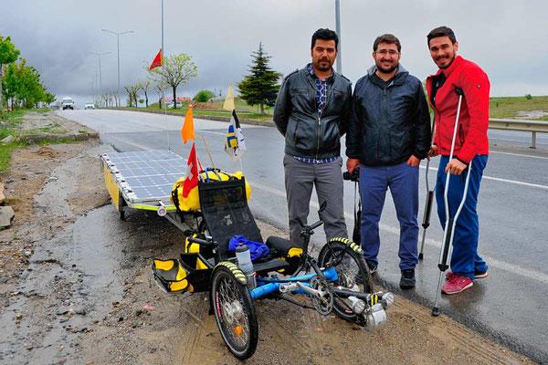 TR: Solatrike in Yozgat mit Reporter und Serkan