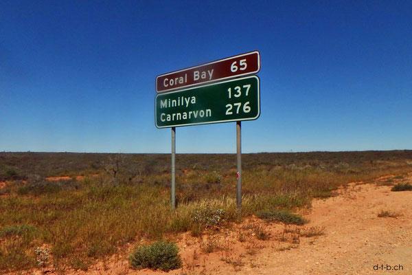 Australien.Distanzschild
