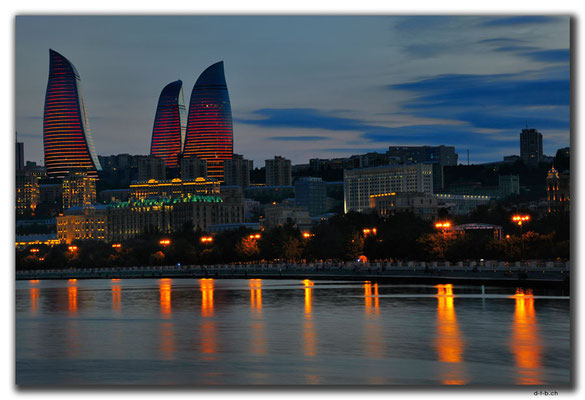 AZ071.Baku.Flame Towers
