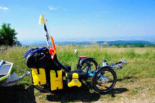 Trike auf Vel'ka Javorina 970m (Slovakia)