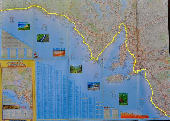 Karte: Südaustralien