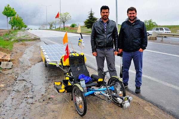 TR: Solatrike in Yozgat mit Reporter