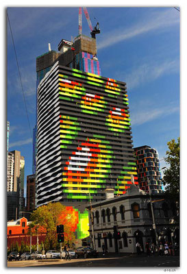 AU1221.Melbourne.Neues Hochhaus