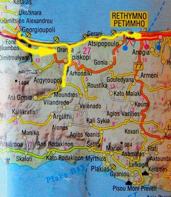 Tag 113: Georgioupolis - Argirouooli - Rethimno