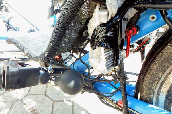 Solatrike. KG.Neue mechanische hupe / new mechanical honk