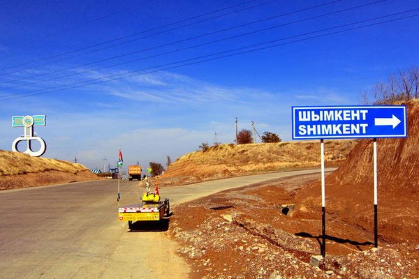 KZ: Solatrike trifft in Shymkent ein