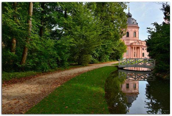 DE199.Schwetzingen.Moschee im Schlossgarten