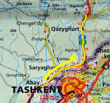 Tag 203: Abay - Sharapkhana