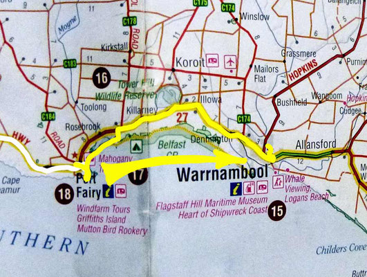 Tag 421: Port Fairy - Warrnambool
