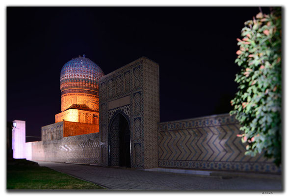 UZ0132.Samarkand.Bibi Khanyum Mosque
