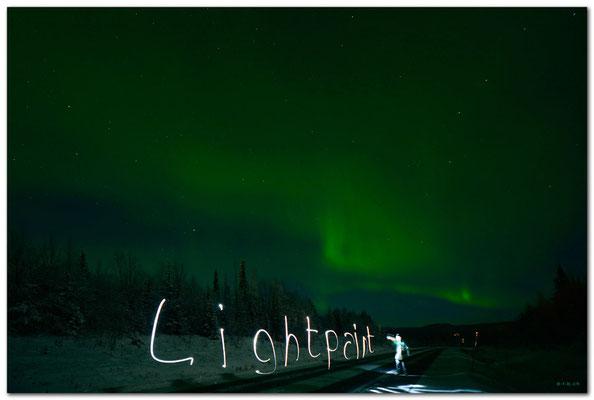 SE0066 Nordlicht.Kiruna.Lightpaint