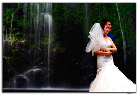 VN0071.Sapa.Love Waterfall.Wedding Photo
