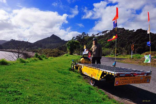 Solatrike in Northland, Neuseeland.