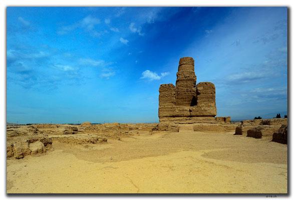 CN0045.Jiaohe Antike City.Forest of Stupas