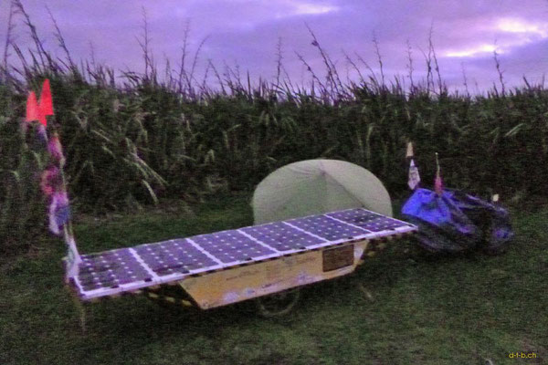 NZ: Solatrike in Curio Bay