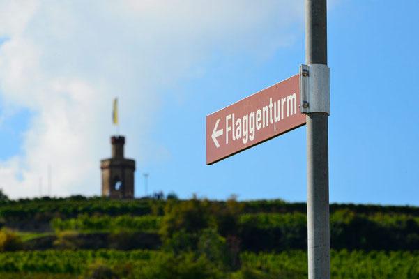 Deutschland.Bad Dürkheim.Flaggenturm