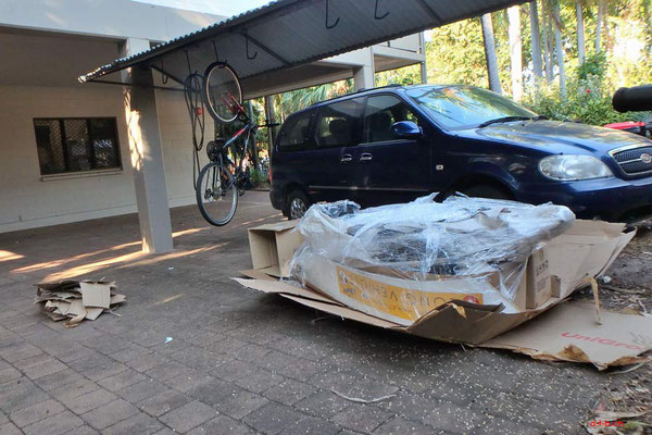 AU: Solatrike auspacken