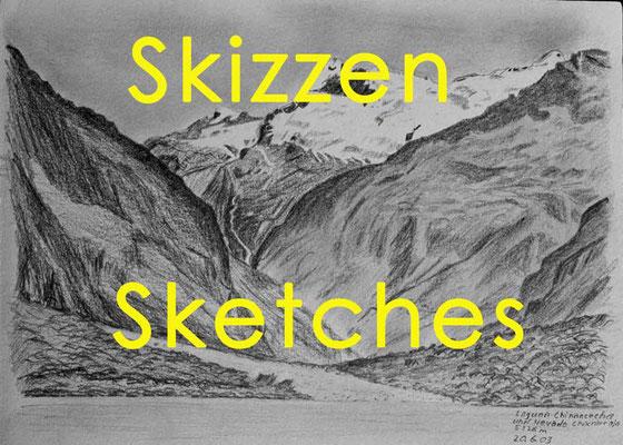 Bildergalerie Skizzen / Painting gallery Sketches