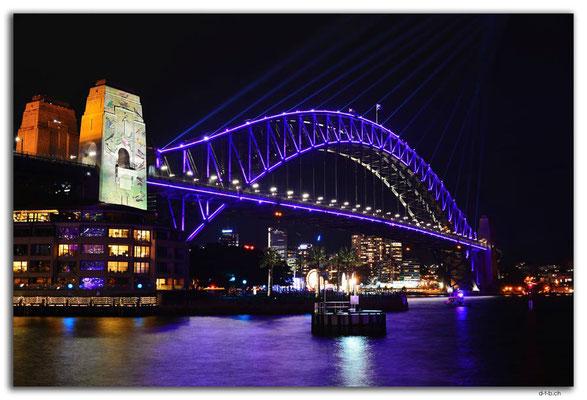 AU1572.Sydney.Vivid.Harbour Bridge