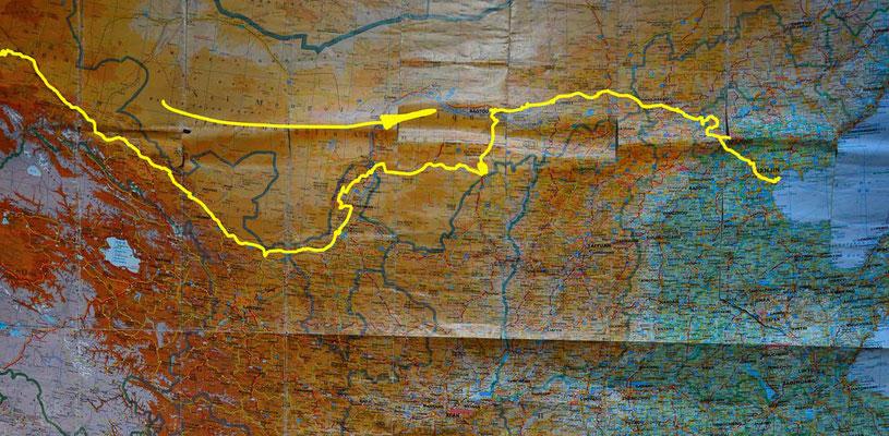 Übersichtskarte China 2 - Map China 2