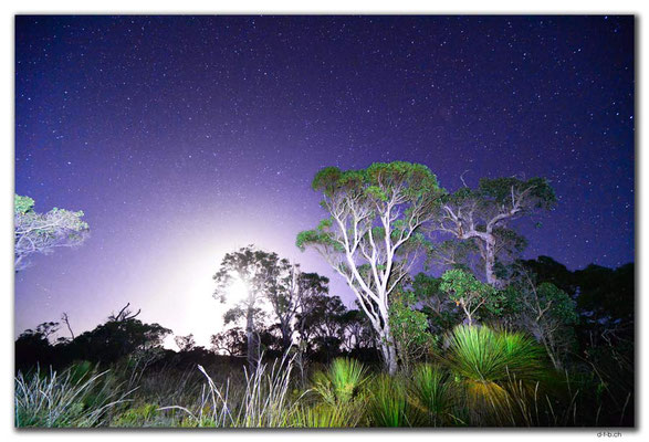 AU0828.Green Range.Stars & Moon