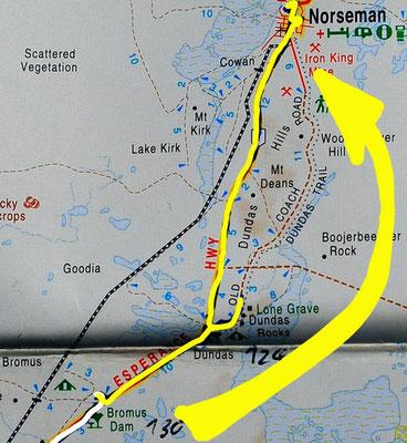 Tag 375: Bromus Dam - Norseman