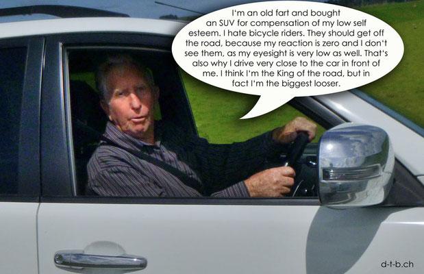 NZ: Solatrike wird auf dem Hwy Nr.3 von diesem Herrn gerammt.