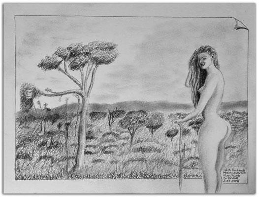 198.Skizze.Jilah Rockhole.Roe Plain.WA.Australia