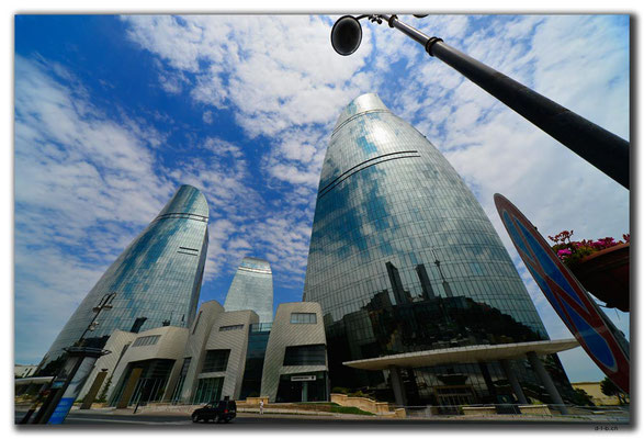 AZ083.Baku. Flame Towers