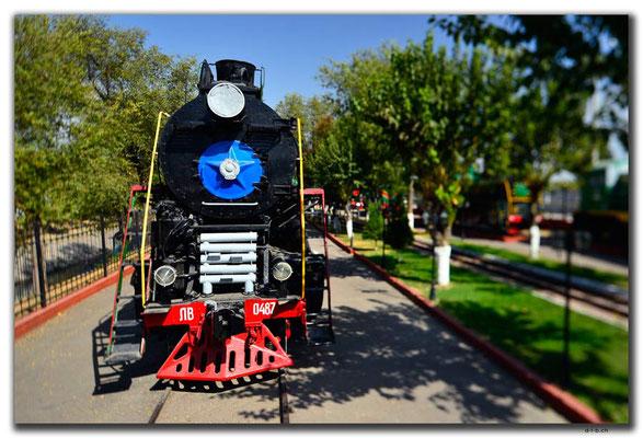 UZ0192.Tashkent.Railway Museum