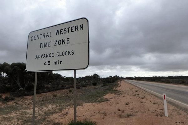 Australien.Zeitzone