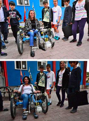 TR: Solatrike in Kayseri bei Schulevent