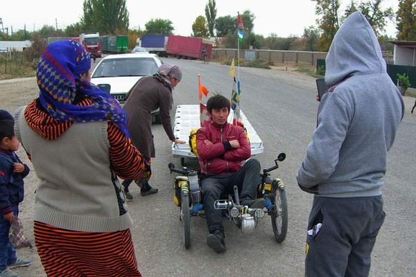 Kasakhstan.Grenze