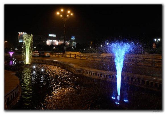 RO0215.Bukarest.Springbrunnen