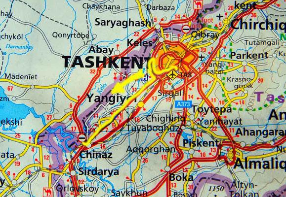 Tag 201: Tashkent - Yallama