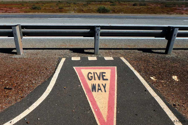 Australien.Port Hedland.Useless sign