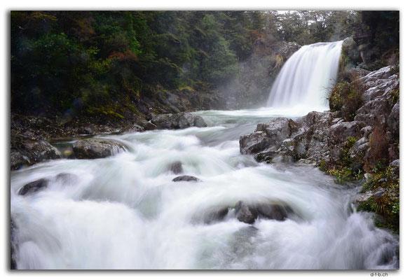 NZ0315.Tongariro N.P.Tawhai Falls