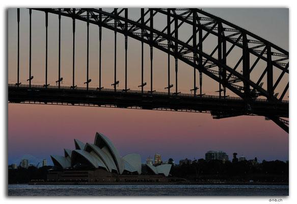 AU1659.Sydney.Opera House & Harbour Bridge.McMahons Point